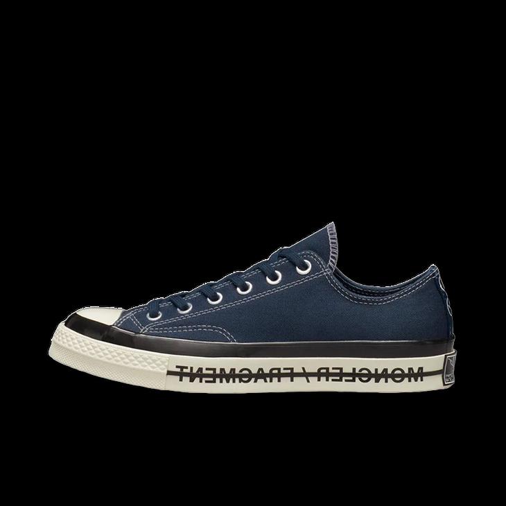 컨버스 × 몽클레르 × 프라그먼트 척 70 인시그니아 블루 (172323C)